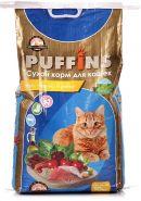"PUFFINS Сухой корм для кошек ""Курочка и рыбка"" (10 кг)"