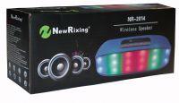 Bluetooth колонки с радио и mp3-проигрывателем NewRixing NR-2014