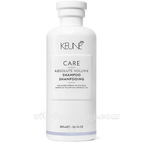 KEUNE Шампунь Абсолютный объем/ CARE Absolute Volume Shampoo, 300 мл. (21345) Кёне