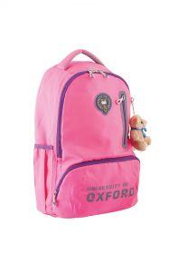 """Ранец подростковый YES """"Oxford"""" OX 280 розовый (арт. 554081)"""