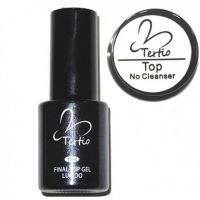 Tertio Top Gel No Cleance, Топ без липкого слоя гель-лак, 10 ml