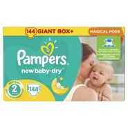 Pampers New Baby-Dry Mini XS144 (2)