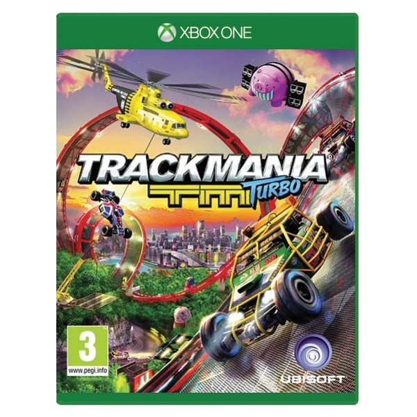 Игра Trackmania TM Turbo (Xbox One)