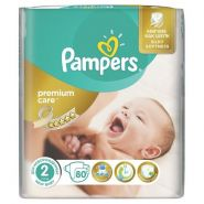 Pampers Premium Care 3-6кг, 80шт (2)
