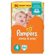 Pampers Sleep&Play 7-14кг, 86шт (4)
