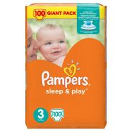 Pampers Sleep&Play 6-10кг, 100шт (3)