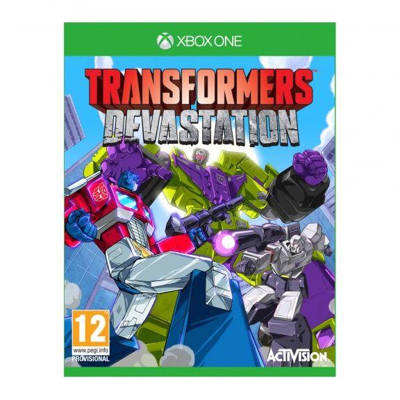 Игра Transformers Devastation (Xbox One)