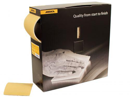Шлифовальный лист MIRKA GOLDFLEX P400
