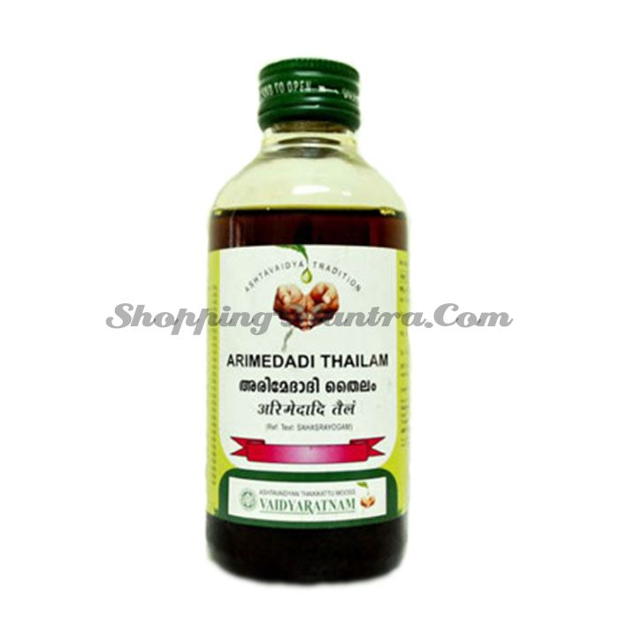 Аримедади масло для полости рта Вайдьяратнам Оушадхасала | Vaidyaratnam Oushadhasala Arimedadi Thailam
