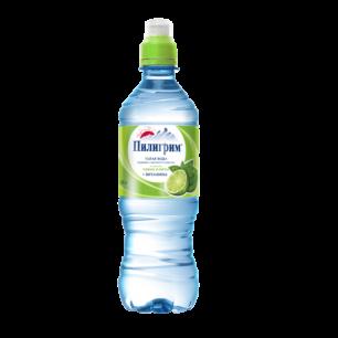 Доставка воды Пилигрим спорт-лок ЛАЙМ-МЯТА 0,5 литра (1 уп./12 бут.)