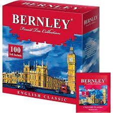 Чай Бернли Инглиш Классик 2г с/я 100 пак.