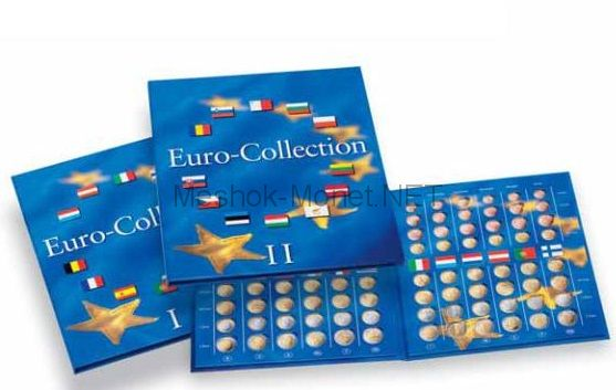 "Альбом-папка для монет евро ""Euro-Collection"" Том 1"