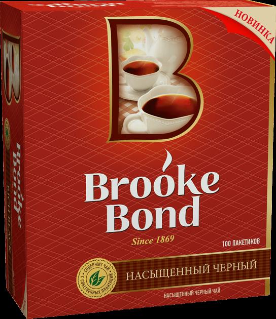 Чай Брук Бонд 1,8г 100пак.