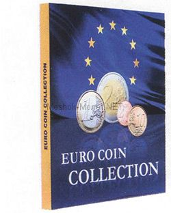 "Альбом-папка для монет евро ""Euro Coin Collection"""