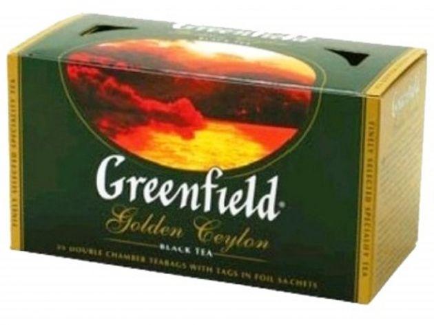 Чай Гринфилд Голден Цейлон черн. байховый 2г 25пак.