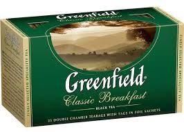 Чай Гринфилд Класcик Брекфаст чер. 2г 25пак.