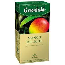 Чай Гринфилд Манго Делайт белый 1,8г 25пак.