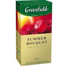 Чай Гринфилд Самма Букет  малина 2г 25пак.