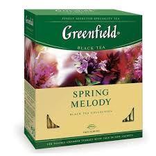 Чай Гринфилд Спринг Мелоди 1,5г. 100 пак.