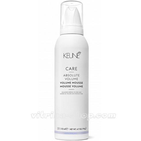 KEUNE Мусс для волос Абсолютный объем / CARE Absolute Volume Mousse, 200 мл. (21350) Кёне
