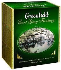 Чай Гринфилд Эрл Грей Фэнтази черный 2г. 100 пак.
