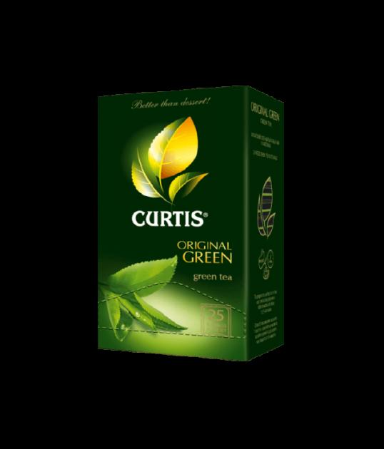 Чай Кертис Original Green пак. 2гр 25пак.конв (сашет)