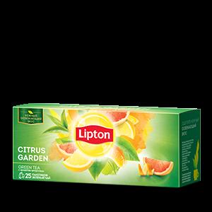 Чай Липтон Грин Цитрус Гарден 1,4г 25пак.