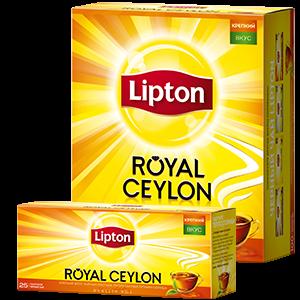 Чай Липтон Роял Цейлон 2гр. 100пак.