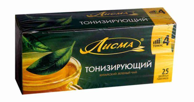 Чай Лисма Тонизирующий 25пак.