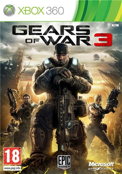 Игра Gears of War 3 (Xbox 360)