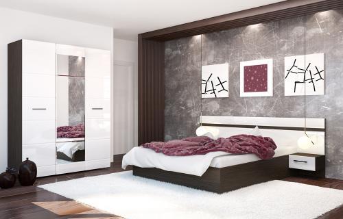 Спальня НЕНСИ модульная система