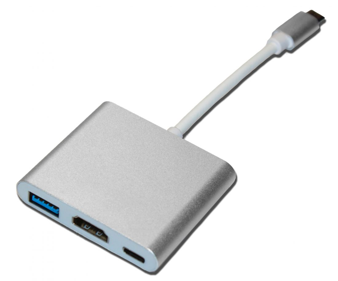 Хаб USBC HDMI+USB3.1+USBC