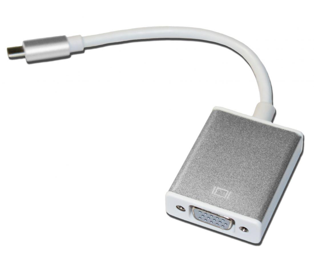 Кабель USBC(m)-VGA(f)