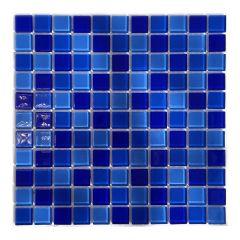 Мозаика стеклянная Aquaviva Сristall Jamaika Dark DCM279