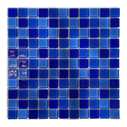 Мозаика стеклянная Aquaviva Сristall Jamaika Dark DCM301