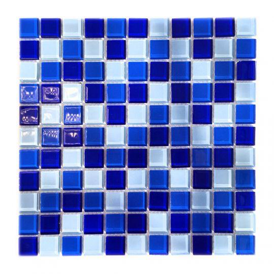 Мозаика стеклянная Aquaviva Cristall Bahama Dark DCM278