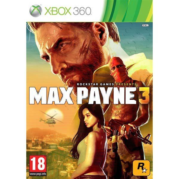 Игра Max Payne 3 (Xbox 360)