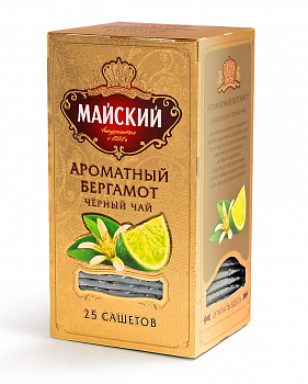 Чай Майский Ароматный Бергамот 2г 25пак.
