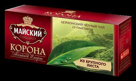 Чай Майский Корона Российской Империи 2г 25пак.