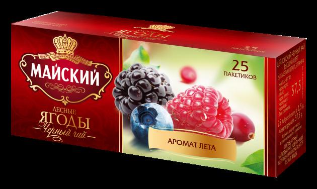Чай Майский Лесные ягоды 1,5г 25пак.