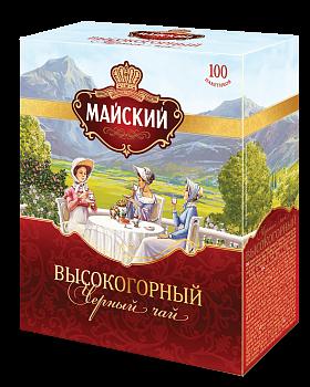 Чай Майский Высокогорный ПРЕпак. 2г 100пак.
