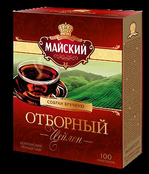 Чай Майский Отборный 2г 100пак.
