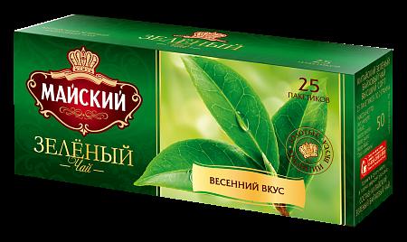 Чай Майский Зеленый пак. 2гр 200пак. (сашет)