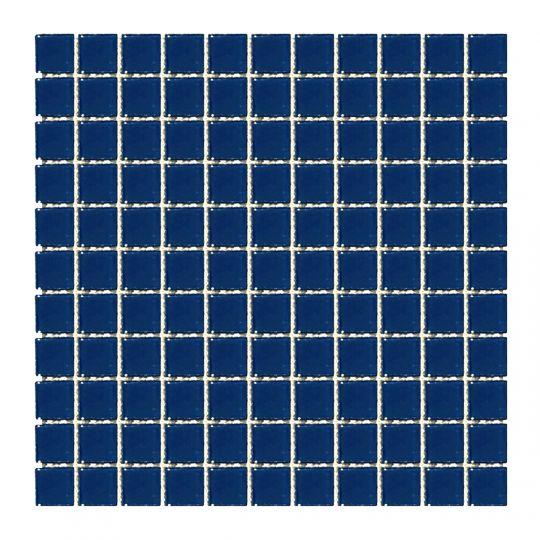 Мозаика стеклянная Aquaviva Cristall темный кобальт LM60