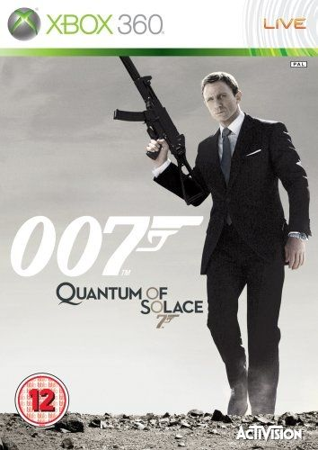 Игра 007 Квант Милосердия (Xbox 360, русская версия)