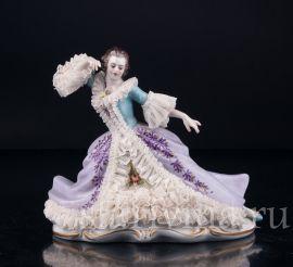 Танцовщица в кружевном платье, Volkstedt, Германия, вт. пол. 20 в