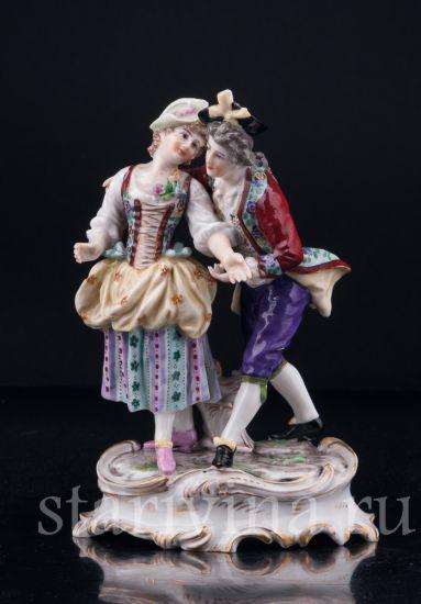 Изображение Влюбленная пара, Дрессель, Кистер и Сие (Dressel, Kister & Cie) в Пассау (Passau), Германия, 1907-20 гг