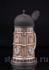 Кружка башня, Германия, вт. пол. 20 века, артикул 03089