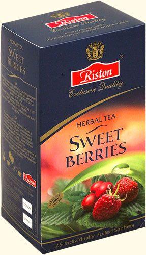 Чай Ристон Сладкие ягоды 2 гр конв 25 пак.