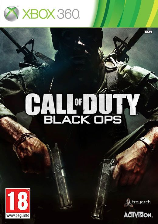 Игра Call of Duty Black Ops (Xbox 360)